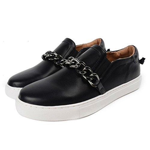 chaine-unique-a-fond-printemps-et-dautomne-occasionnel-chaussures-chaussures-chaussures-blanc-pedale