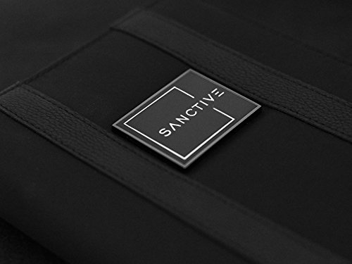 SANCTIVE - Portatrajes de viaje negro negro small