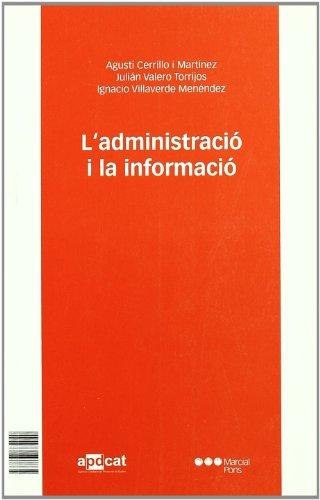 La administración y la información