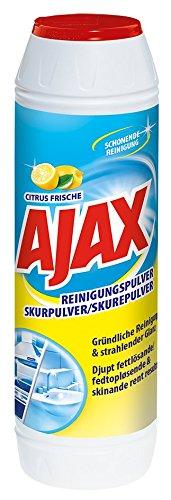AJAX Reinigungspulver Citrus Frische, 1er Pack (1 x 500 g)