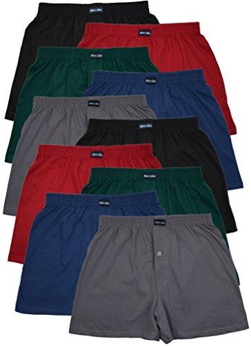 MioRalini 10 Boxershort Baumwolle Artikel: 5 Farben mit Eingriff, Groesse: XL-7