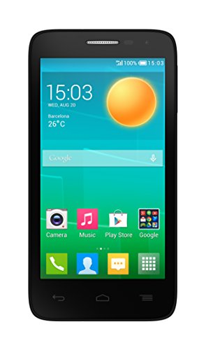 Foto Alcatel One Touch Pop D5 Smartphone, 4 GB, Blu [Italia]