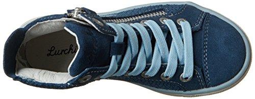 Lurchi Mädchen Saskia High-Top Blau (Jeans)