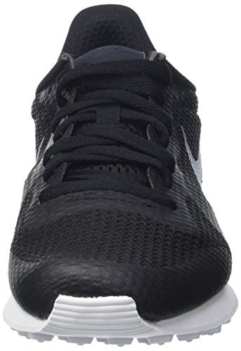 Nike Herren Internationalist Ns Turnschuhe Multicolore (Black/Mtllc Slvr/Flt Slvr/Wht)