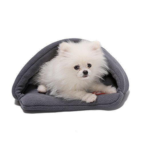 Camas Para Perros,World 9.99 Mall Cueva de mascotas Suave y cálida cama...