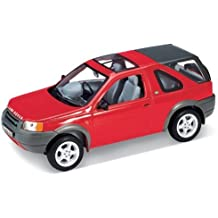 WELLY WE2077 LAND ROVER FREELANDER 1ma SERIE RED 1:24 MODELLINO DIE CAST MODEL