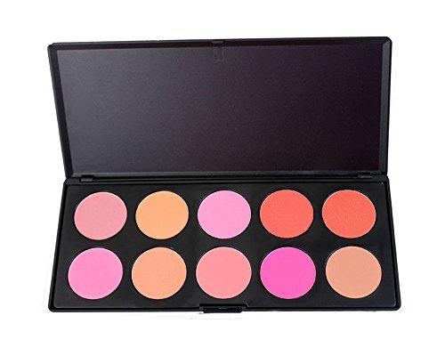 Pure Vie® 10 Colores Cara Polvos Coloretes / Blush