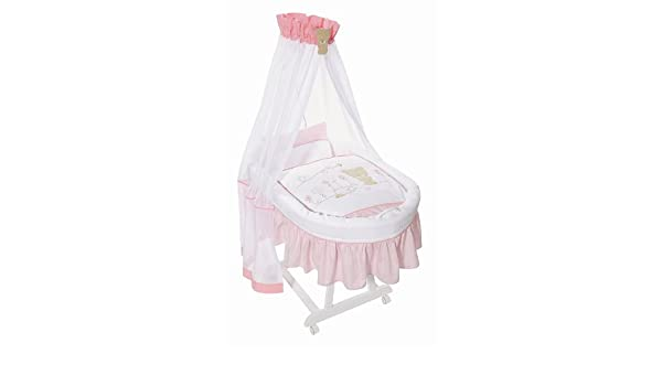 Easy baby himmelset für stubenwagen honey bear rose 485 42: amazon