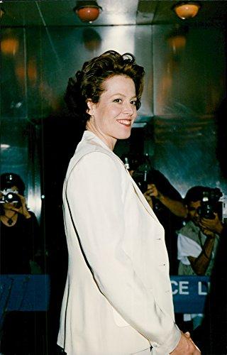 Vintage Photo of Sigourney Weaver at The Gotham Image Awards in New York (Award Image)