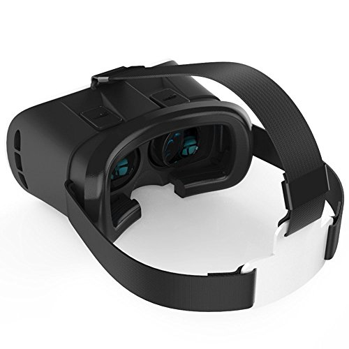 INNORI Virtual Reality Headset VR Headset-bewegliche videoglas für Smartphones wie iPhone 6 Plus, HTC, Samsung, Sony und andere Handys Sizing zwischen 4,7 und 6 Zoll mit verstellbaren Trägern