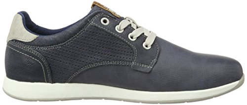Mustang Herren 4114-303-800 Sneakers Blau (800 dunkelblau)