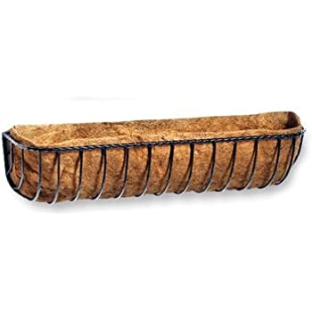 Tom Chambers 110cm 44-inch Hand-Forged Window Box Complete with Liner