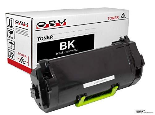 OBV kompatibler Toner ersetzt Lexmark 62D2H00 52D2H0L 52D2H0L für Lexmark MS710 MS711 MX710 MX711 MS810 MS811 MS812 MX810 MX811 MX812 Serie schwarz (Lexmark Ms710)