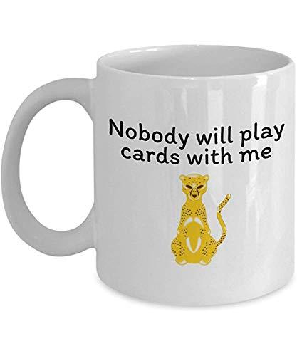 Lustige Kaffeetasse personalisierte Tassen 11 Unzen Print Mug Freund Geburtstag Familie Geschenk-Karten mit mir spielen