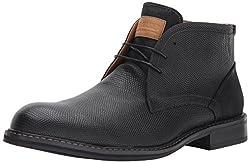 Steve Madden Mens Fresco Chukka Boot, Black, 9 US/US Size Conversion M US