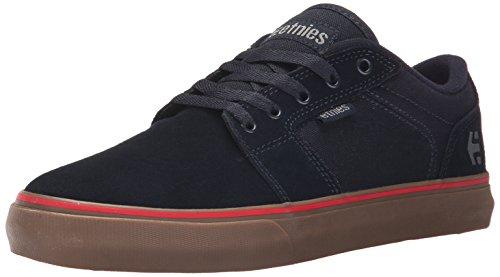 EtniesBarge Ls - Scarpe da Skateboard uomo Azul - Blue (Navy/Navy/Gum 464)