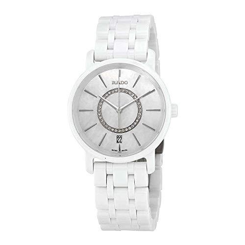 Rado Diamaster madreperla quadrante orologio in ceramica da R14065907
