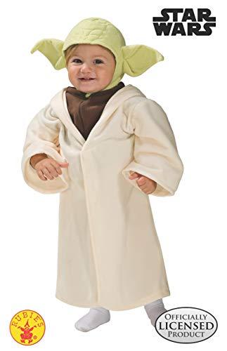 Rubie' s-costume da bambino di yoda, originale disney star wars (1-2 anni)