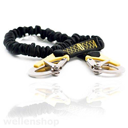 wellenshop Lifeleine 2-Punkt Sicherheitsgurt 100cm-180cm elastisch Sorgleine Lifeline