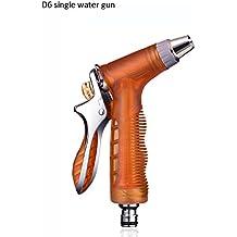Telescópico Pistola de agua para lavado de coches de alta presión Tubería de agua para automóviles para uso doméstico Aguja portátil de agua para uso múltiple Pistola de agua individual (2 colores opcional) (con o sin conector opcional) Cuatro temporadas comunes ( Color : A )