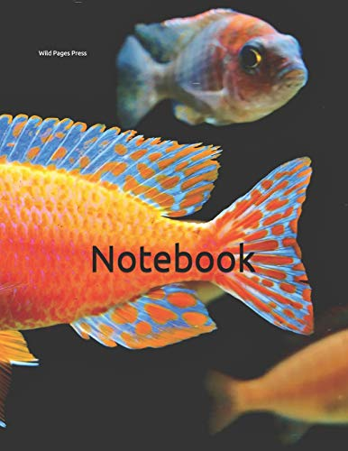 Notebook: fairy wrasse wrase fish fishes aquarium tank filter marine maritime decoration pebbles Betta siamese guppy cichlid angel  water quality plants rocks rock lilly lily snail snails tanks stand (Blume Betta Fisch)