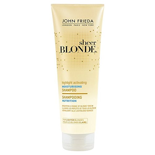 John Frieda Sheer Blonde Shampooing Hydratant pour Briquet 250ml Blondes