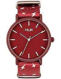 705559f6188d Nur Wanderlust - el Reloj analógico Unisex pensado para los Jovenes y  Perfecto para Tus Regalos