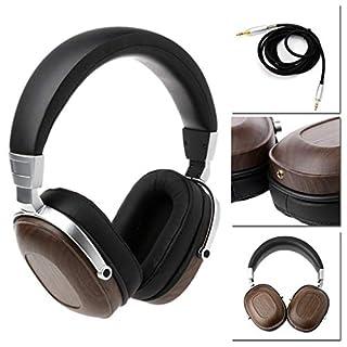 A&DW Musik-Kopfhörer, magnetischer Stereo-Ohrenschützer aus Holz mit natürlichem Audio-Surround-Sound