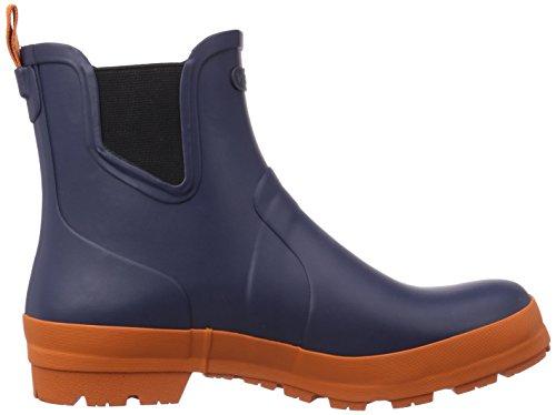 Viking Bergen, Bottes en caoutchouc non-fourrées, tige basse homme Bleu - Blau (Navy/Orange 531)