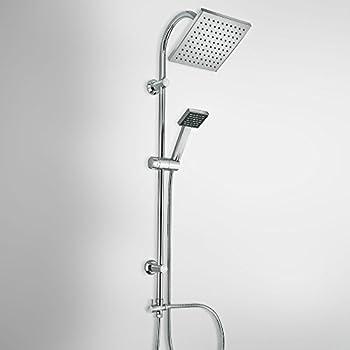 Colonna Doccia: colonna doccia di design con soffione, doccetta e deviatore