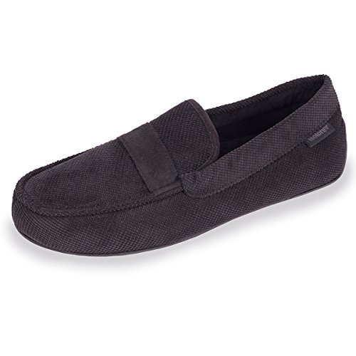 chaussons-mocassins-homme-isotoner-41-42