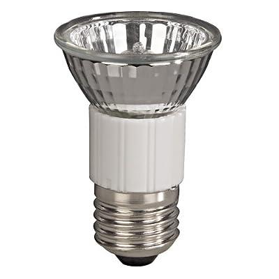Xavax Hochvolt-Halogen-Lampe für große Einbauleuchten, Strahler, Spots, JDR Reflektorform, Dimmbar, Fassung E27, 35 Watt, Warmweiß von Xavax auf Lampenhans.de