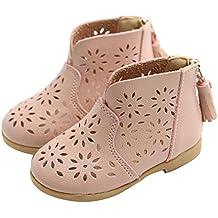 YanHoo Botas de bebé niña Verano Borla Transpirable Zapatos Princesa Sandalias niños Princesa Zapatos Zapatillas de