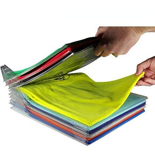 Riotis Kleidung Organizer System Falten Board Aktenschrank Organisation Badezimmerablagen und-Regale (Organizer-systeme Schrank Regal)
