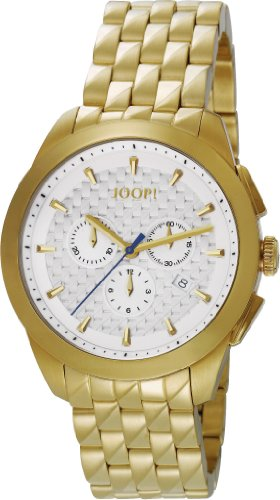 Joop Herren-Armbanduhr XL Legend Chrono Swiss Made Chronograph Quarz Edelstahl JP101071S04