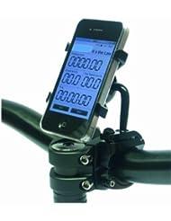 NC-17 connect Lenkerhalterung für Smartphone und Handy / für Apple iPhone 4/4S (verstellbare Fahrradhalterung, geeignet für Down-Hill und Mountainbiking)