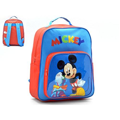 Mickey-Mouse-Mochila-Capacidad-34-x-10-x-30-cm-Mochila-infantil-35-cm-Multicolor