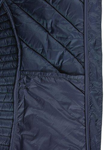 BLEND SHE Sienna Damen Steppjacke Übergangsjacke mit Kapuze aus hochwertiger Materialqualität Navy (70230)