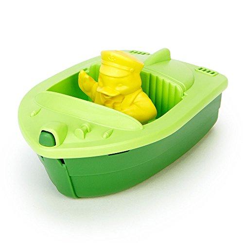 Unbekannt Green Toys Schnellboot Badewannenspielzeug, grün - Englisch-1102