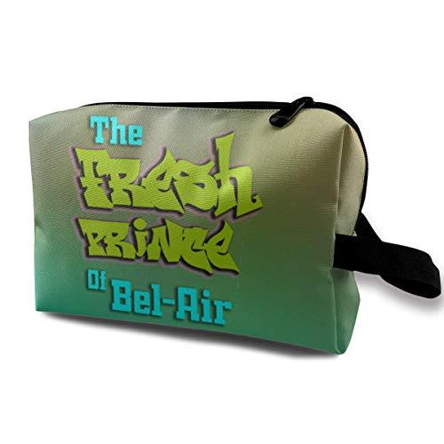 Der frische Prinz von Bel-Air Reisen Make-up Taschen Kosmetiktasche Reißverschluss
