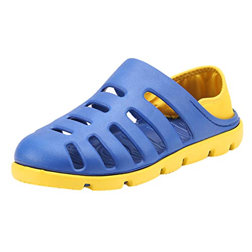 Epig Herren Summer Beach Schuhe - rutschfeste Light Slipper Falt Sandalen Cover Heel Slippers