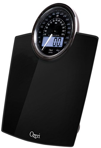 Bilancia digitale da bagno Ozeri Rev con quadrante elettromeccanico (nera) - 7