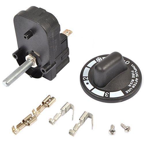 01362Original Dualit Ersatzteile–Toaster Timer c/w Knauf Schrauben & Verkabelung Anweisungen