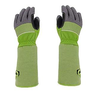 Luerme Professional Long Gardening Gloves Long Pruning Sleeves Thorn Proof Garden Gloves Breathable Thorn Proof Garden Work Gloves For Men Women Gardener