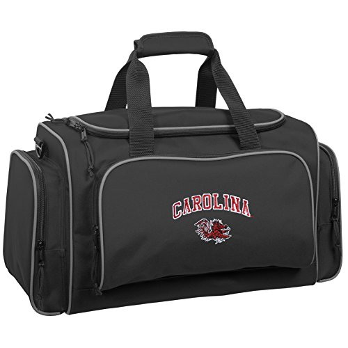 wallybags-south-carolina-gamecocks-21-inch-collegiate-duffel-black-one-size