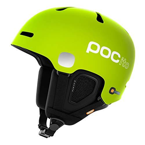 POC POCito Fornix Skihelm, Fluorescent Yellow/Green, Medium/Large