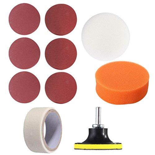 Sharplace Auto Fahrzeug Motorrad Scheinwerfer Lampe Objektiv Sauber Polieren Restauration Kit