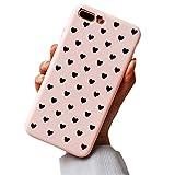 Hishiny Kompatibel mit iPhone 8 Plus Hülle, Handyhülle für 7 Plus, Soft Silikon Ultra Dünn TPU Bumper Schutzhülle Premium Kratzfest Schutzschale Backcover für iPhone 7 Plus/8 Plus