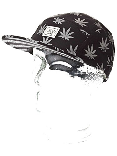 Cayler And Sons - Casquette 5 Panel Homme Budz n Stripes Reflect 5 Panel Cap - Black/Reflective