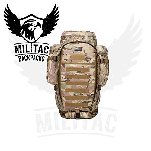 Militac 9.11Tactical MOLLE Rucksack Bergen, lang, die Sniper Gewehr, Pistole mit Rucksack, multicam
